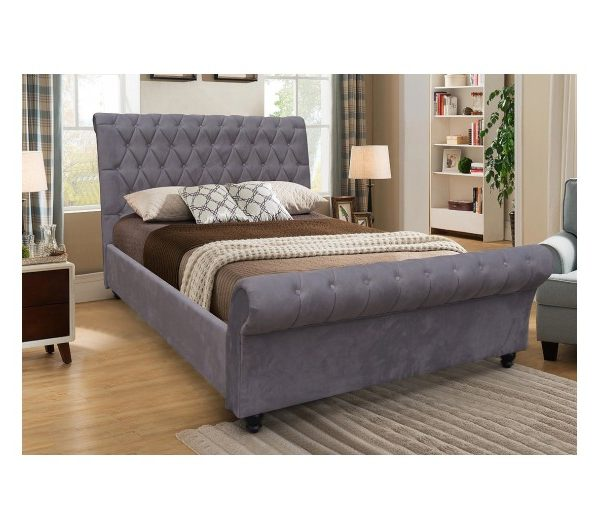 6263 thickbox default Kilkenny Fabric Bed Grey