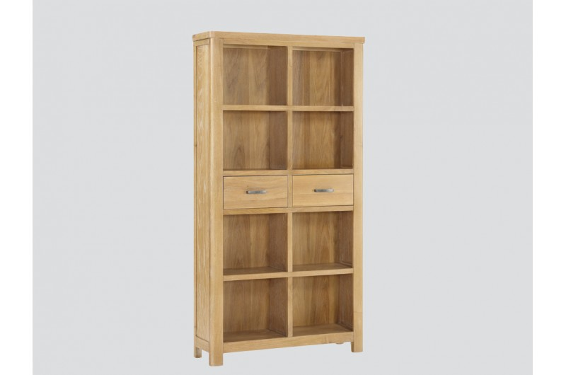 6344 thickbox default Andorra Washed Oak Tall Bookcase