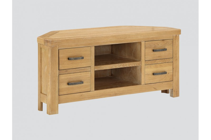 6347 thickbox default Andorra Washed Oak Corner TV Unit