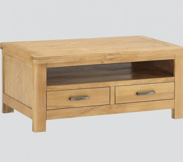 Andorra Washed Oak Coffee Table