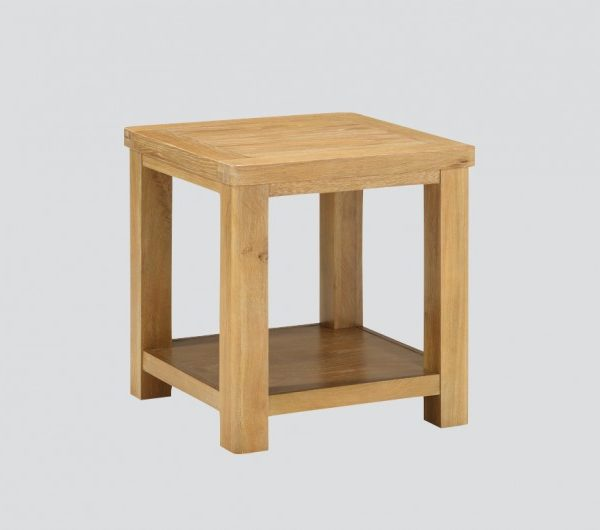 Andorra Washed Oak End Table