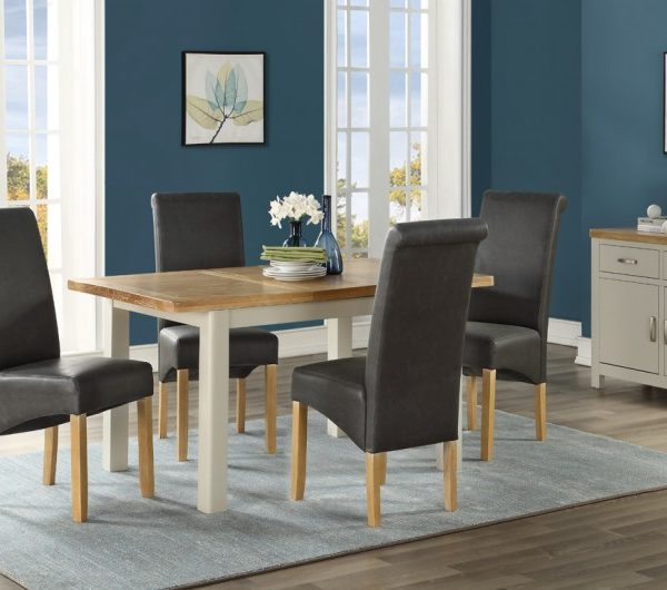 Andorra Painted 1200mm Extension Dining Set