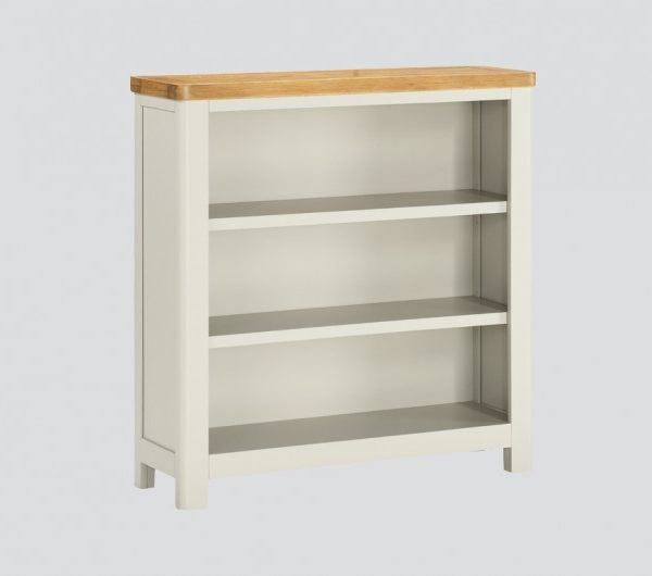 Andorra Painted Low Bookcase