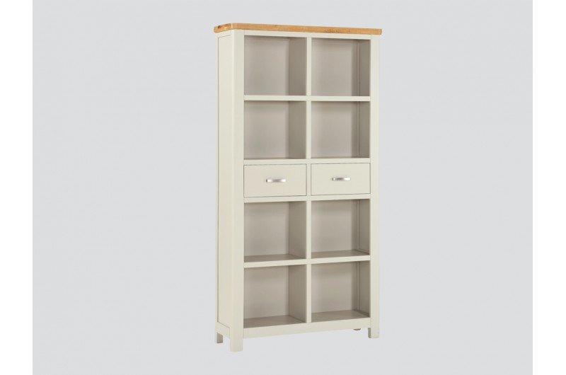 6371 thickbox default Andorra Painted Tall Bookcase