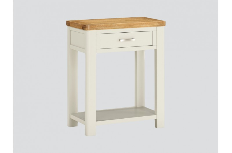Andorra Painted 1 Drawer Console Table