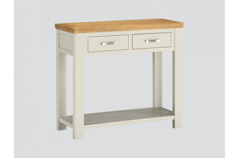6383 thickbox default Andorra Painted 2 Drawer Console Table
