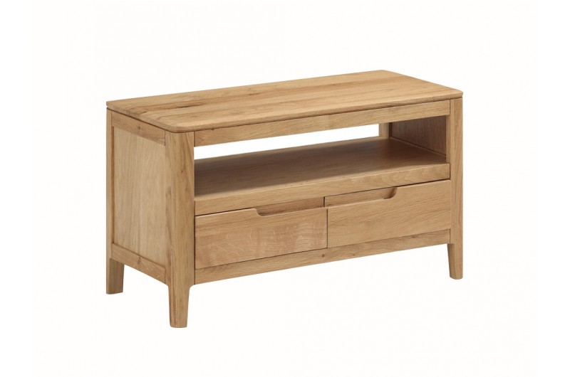 Dunmore Oak Small TV Unit