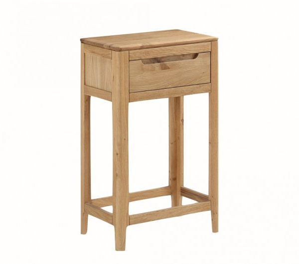 Dunmore Oak 1 Drawer Console Table