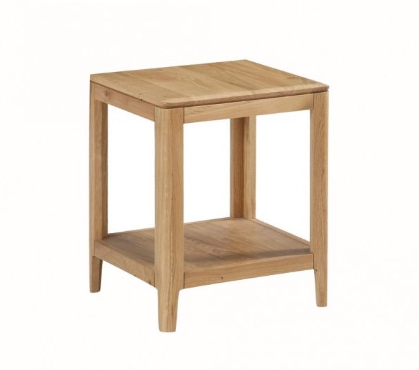 Dunmore Oak End Table