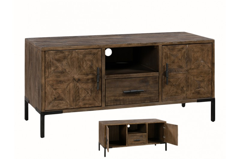 Seville TV Unit 2 Doors & 1 Drawer