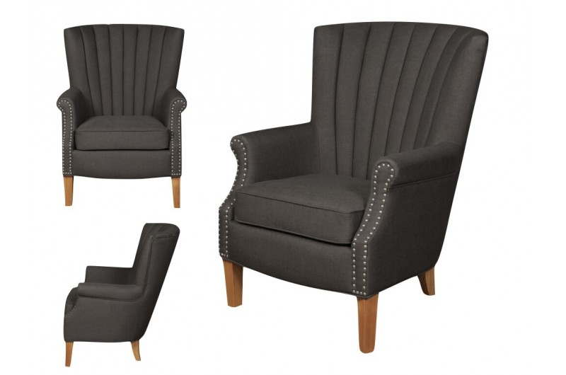 6461 thickbox default Bexley Charcoal Armchair