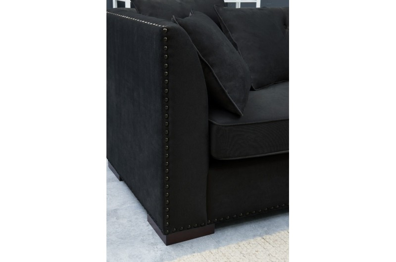 6507 thickbox default Black Chesterfield Corner Suite Right