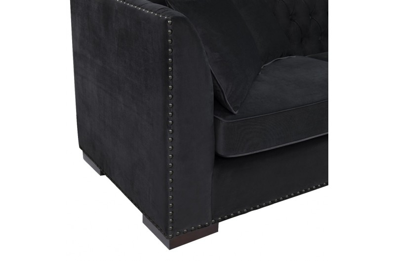 6512 thickbox default Black Chesterfield Corner Suite Right