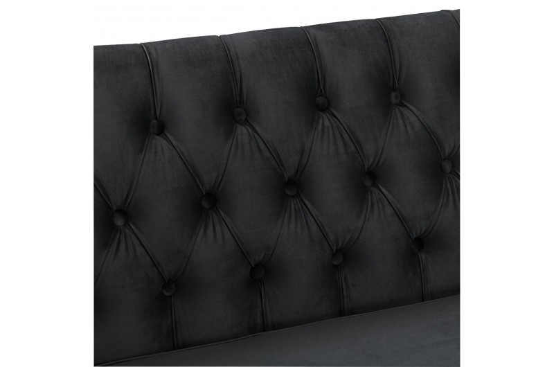 6514 thickbox default Black Chesterfield Corner Suite Right