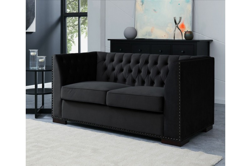 6536 thickbox default Chester 3 2 Seater Suite Black