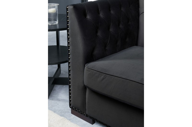 6544 thickbox default Chester 3 2 Seater Suite Black