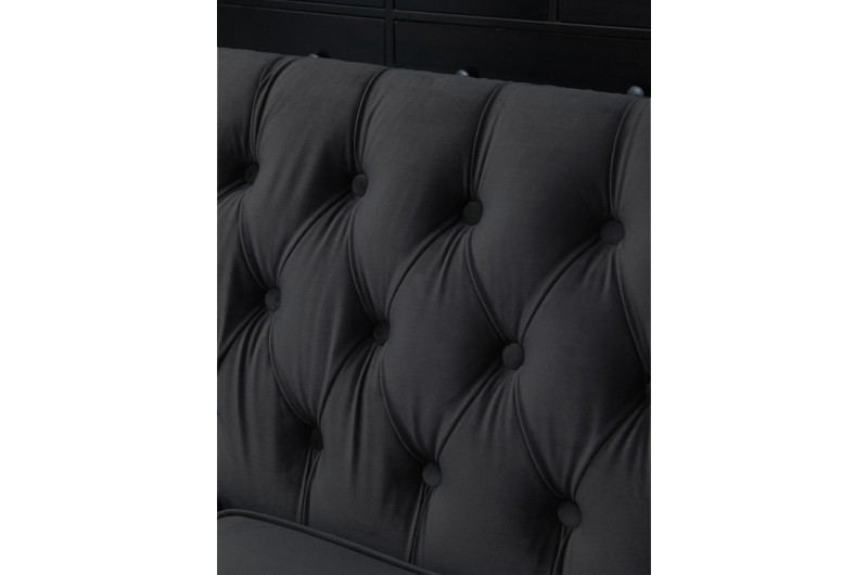 6546 thickbox default Chester 3 2 Seater Suite Black