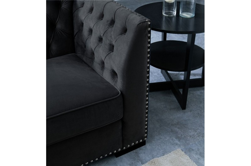 6556 thickbox default Chester 3 2 Seater Suite Black