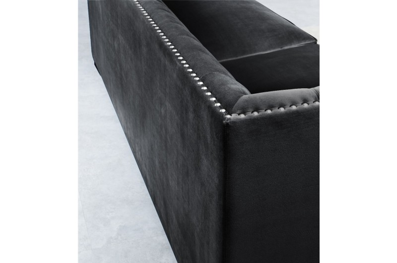 6557 thickbox default Chester 3 2 Seater Suite Black
