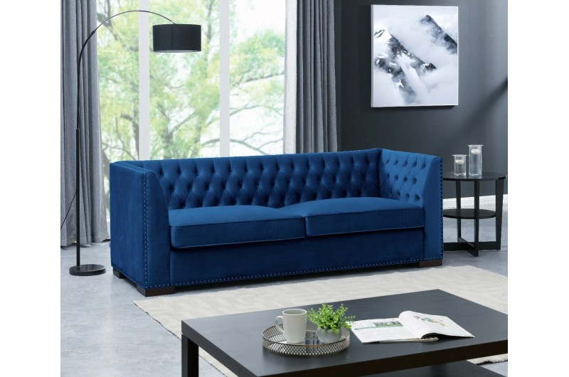 6577 thickbox default Chester 3 Seater Royal Blue