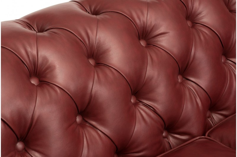 6630 thickbox default Faux Leather Chesterfield Suite Ox Blood Red