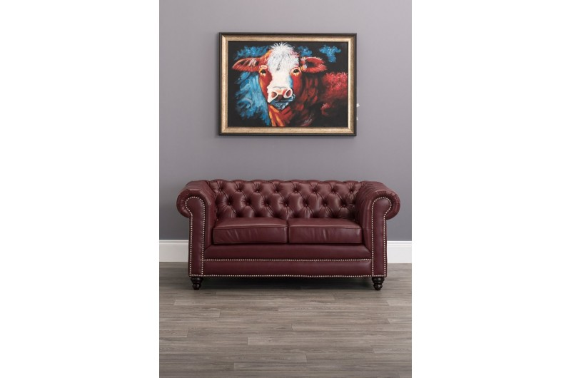 6632 thickbox default Faux Leather Chesterfield 2 Seater Ox Blood Red