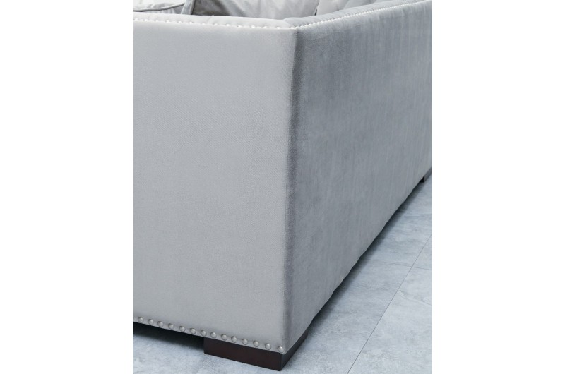 6638 thickbox default Grey Chesterfield Corner Suite Left