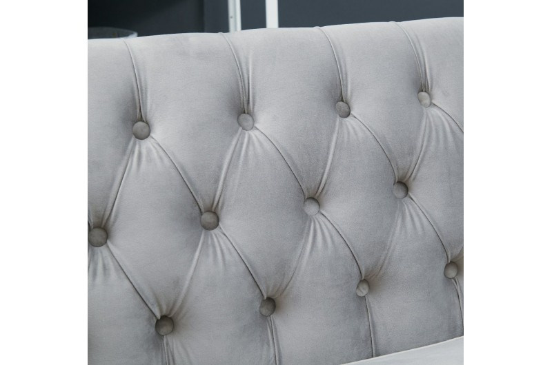 6639 thickbox default Grey Chesterfield Corner Suite Left