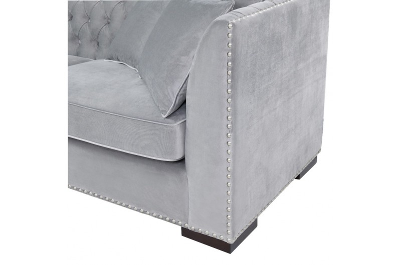 6641 thickbox default Grey Chesterfield Corner Suite Left