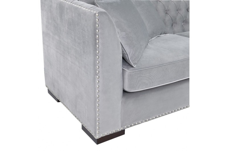 6648 thickbox default Grey Chesterfield Corner Suite Right