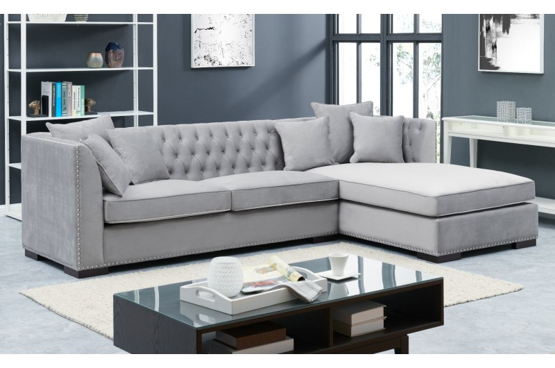 6651 thickbox default Grey Chesterfield Corner Suite Right
