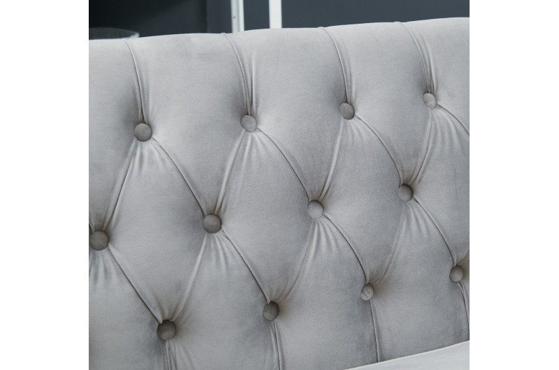 6654 thickbox default Grey Chesterfield Corner Suite Right