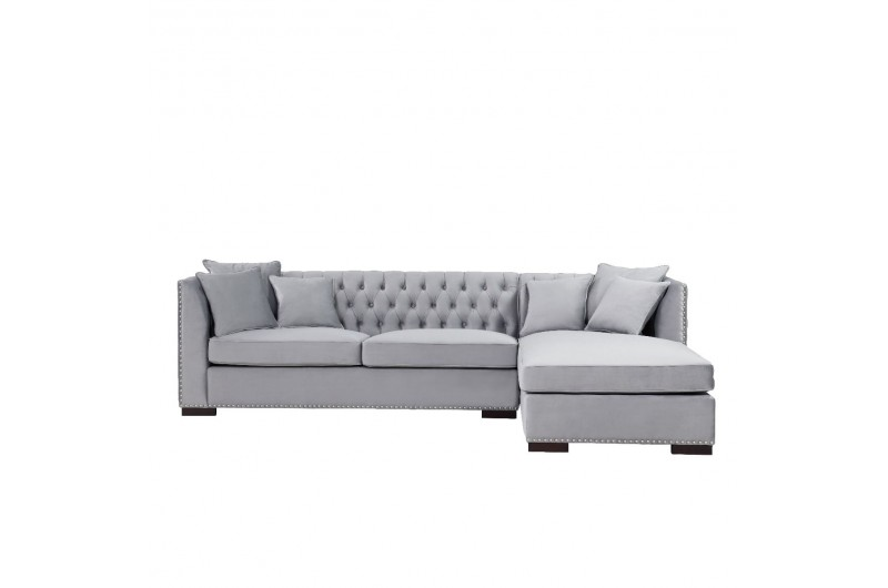 6655 thickbox default Grey Chesterfield Corner Suite Right