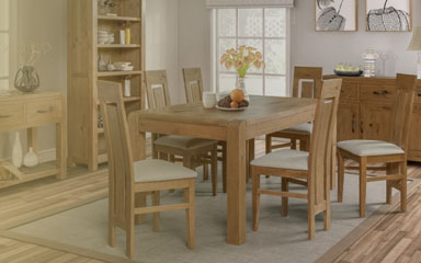 Capri Fixed Dining Set