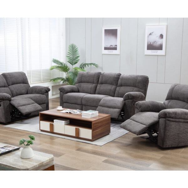 Corby Suite Charcoal